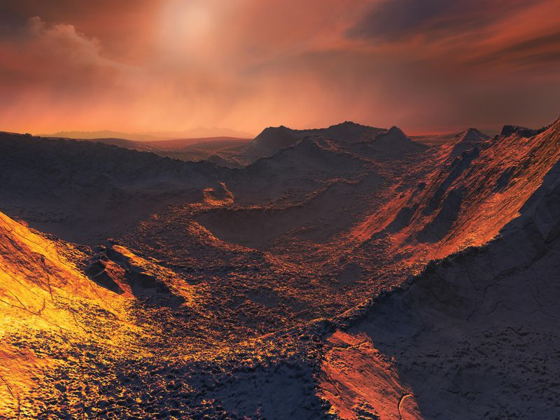 A Frozen Super-Earth Has Been Found in a Neighboring Star System