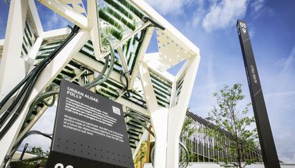 Will Buildings of the Future Be Cloaked In Algae?