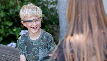 """Superpower Glass"" Helps Kids With Autism Understand Emotions"