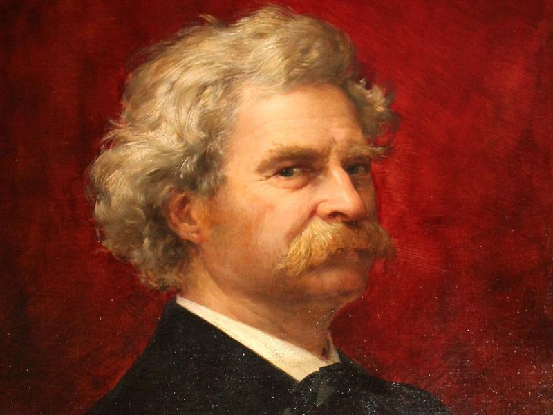 Image result for image of mark twain