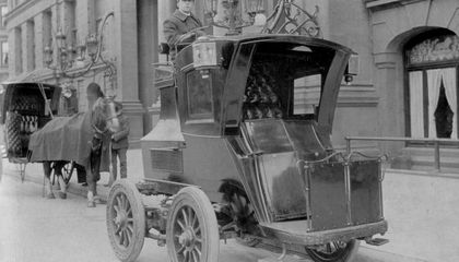 Henry Bliss, America's First Pedestrian Fatality, Was Hit By an Electric Taxi