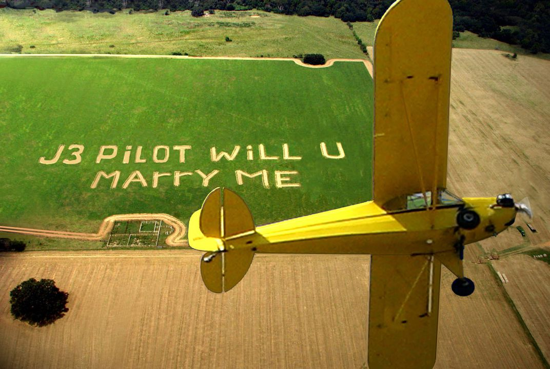 Message in farmers field  | Smithsonian Photo Contest | Smithsonian