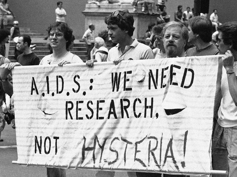 Image result for aids 1982