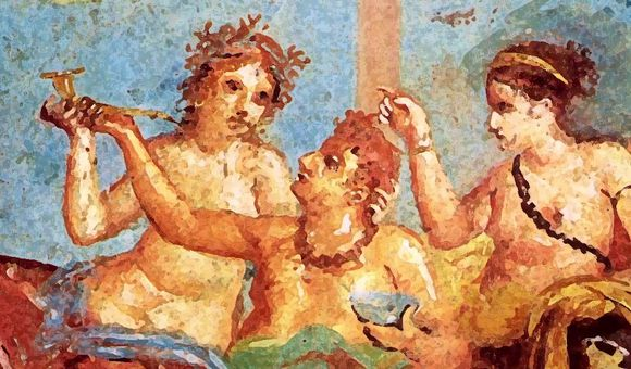Preview thumbnail for video'Ask Smithsonian: Why Did Ancient Greeks and Romans Lie Down to Eat?