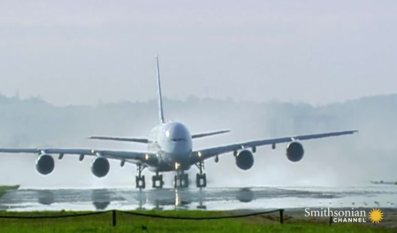 Preview thumbnail for video'Testing the Airbus A380