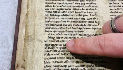Fragments of Early Arthurian Legend Found in 16th-Century Book
