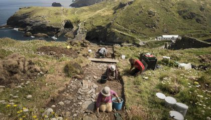 A Palace Was Unearthed Where Legend Places King Arthur's Birthplace