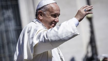 The Pope Says We Should Probably Get on Stopping Climate Change