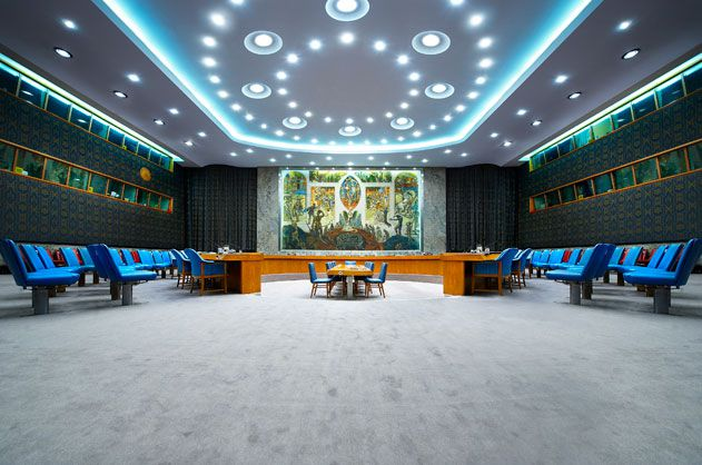UN Security Council New York
