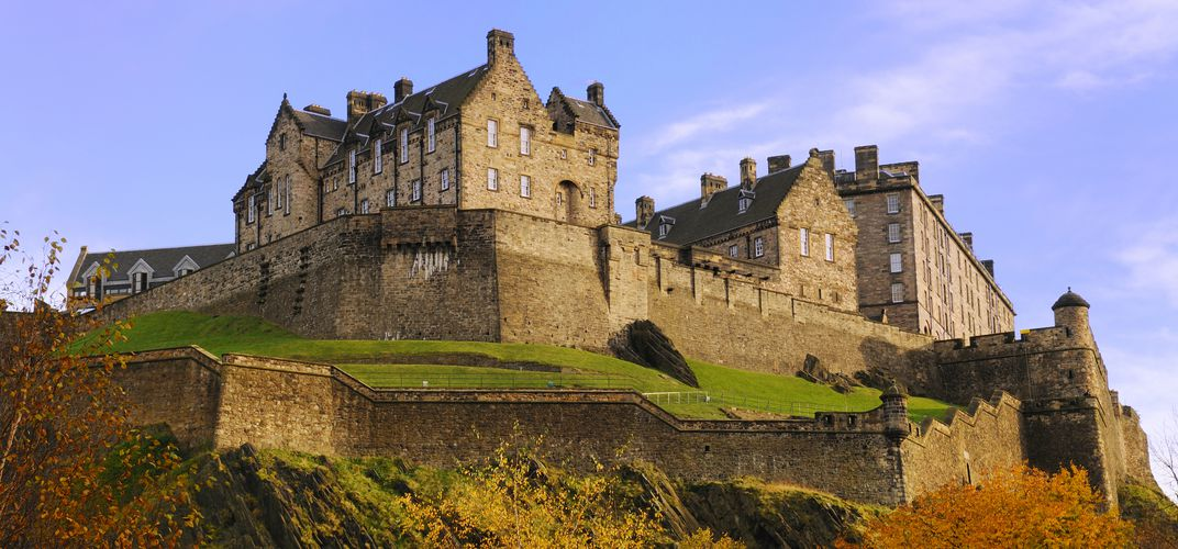 Scotland's Edinburgh Castle