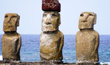 Easter Island Statues May Have Marked Sources of Fresh Water