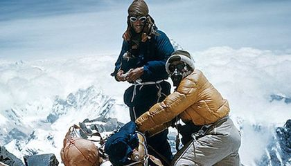 Sixty Years Ago, Edmund Hillary Reached the Top of the World. Hear Him Describe It