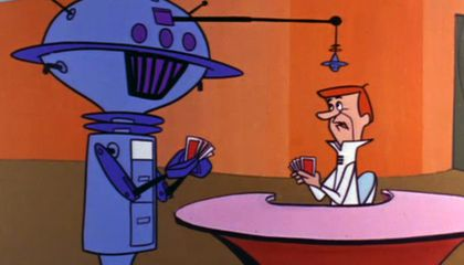 The Episode Where George Jetson Rages Against the Machine
