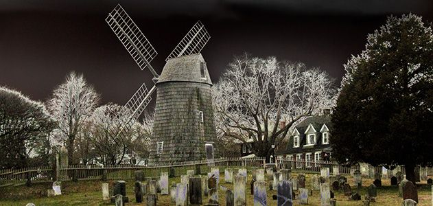 East Hampton windmill
