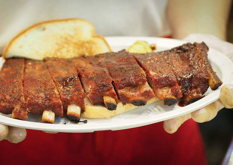 Oklahoma Joe's Barbecue Ribs