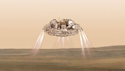 ExoMars Lander Goes Silent at the Last Minute