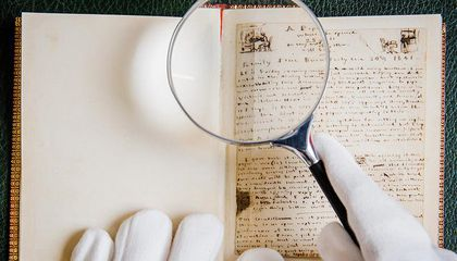 Unseen Trove of Literary Treasures, From Emily Brontë's Handwritten Poems to Robert Burns' Musings, Up for Sale