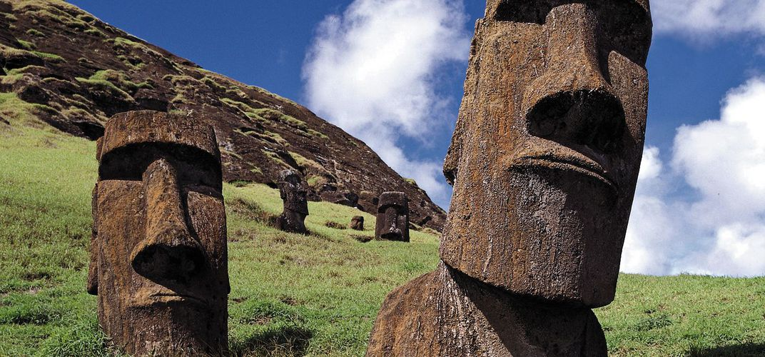 The mysterious <i>moai</i> of Easter Island