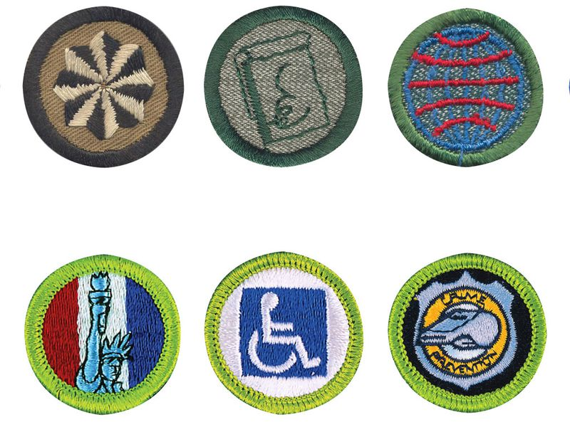 How the History of Merit Badges Is Also a Cultural History