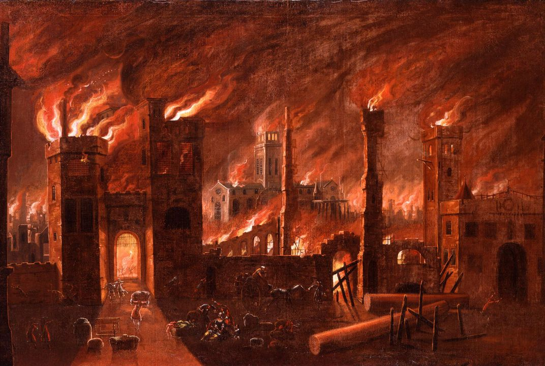 The Great Fire of London Was Blamed on Religious Terrorism | History |  Smithsonian Magazine