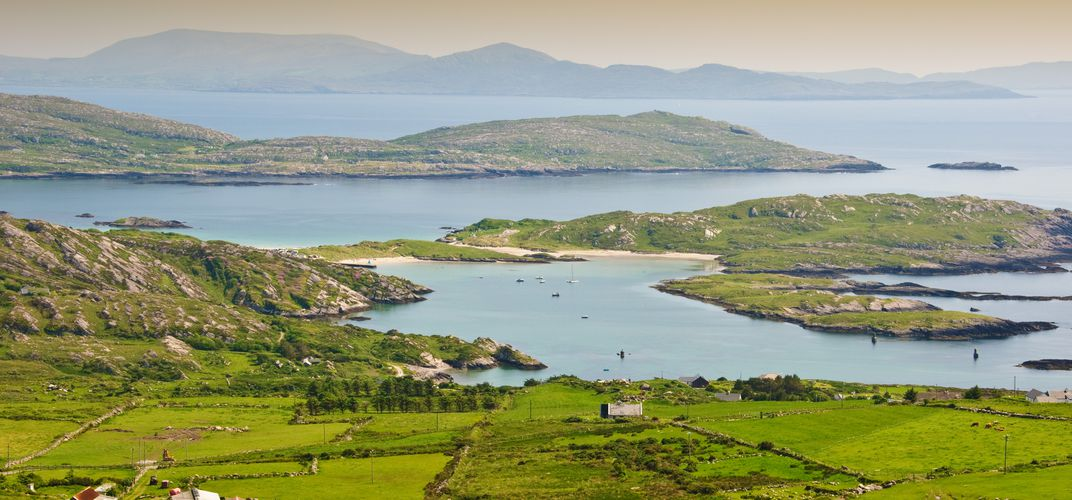 The stunning mountain and coastal landscape of Ireland's Ring of Kerry