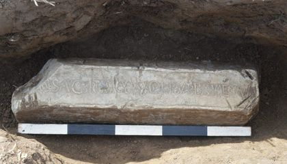Local Man Finds 2,000-Year-Old Roman Lead Ingot in Welsh Field