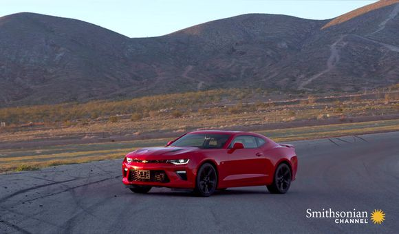 Preview thumbnail for video'This Car Factory Assembles Camaros Every 35 Minutes