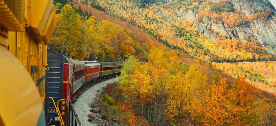Railroading in New England <p>Experience New England&#39;s breathtaking fall foliage, weathered mountains, rocky coastlines, and charming towns from aboard historic train lines.&nbsp;</p>