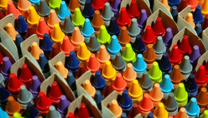 Look How 30 Years of Automation Changed How Crayons Are Made