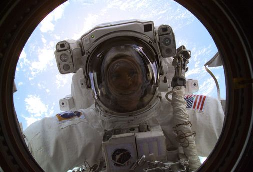 Astronaut Scott Parazynski is about to join an elite group of space travelers.