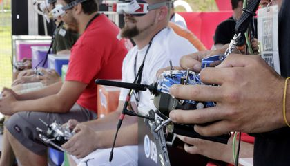 Image: Drone pilots gather for racing championship