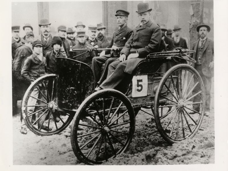 The Forgotten Car That Won America\'s First Auto Race | Smart News ...