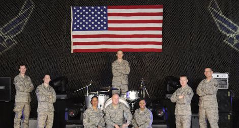 Rock out on the Fourth with Max Impact, the premier band of the United States Air Force.