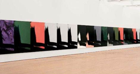 Andy Warhol's Shadows, on view in its entirety for the first time