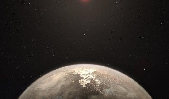 Earth-Sized Planet Detected Nearby