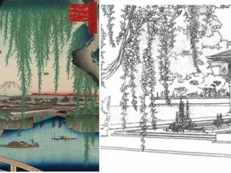 frank lloyd wright credited japan for his all american aesthetic