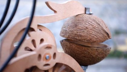 Coconut Shell Contraption Turns Your Bicycle Into a Monty Python Skit