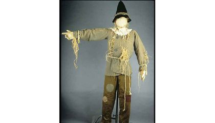 Smithsonian Will Stretch to Save Scarecrow's Costume, Too