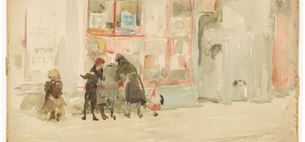 Caption: A Rare Peek at Whistler's Exquisite Watercolors