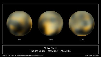 Hubble Takes New Pluto Pics