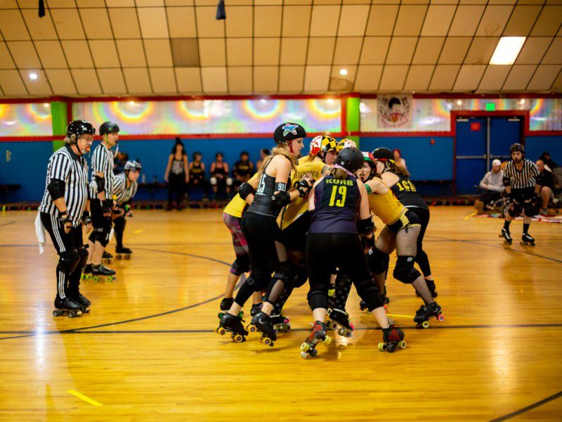 The Rough-and-Tumble Sport of Roller Derby Is All About Community | At the  Smithsonian | Smithsonian Magazine