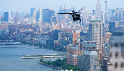 Army Blackhawk Collides With Drone Over NYC
