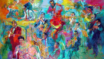 LeRoy Nieman Pulled Together a Dream Band for His Epic Portrait of Jazz Greats