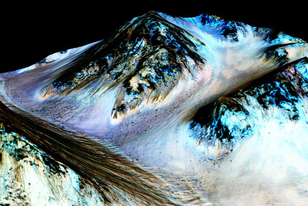 There's water on Mars. Could there be Martians?