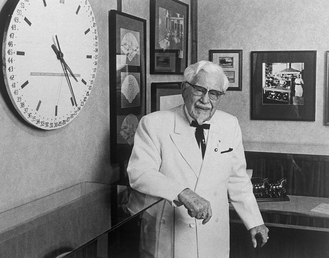 Colonel Harland Sanders, 1978