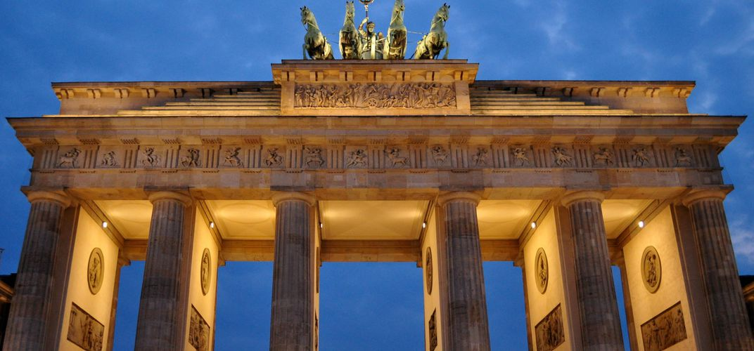 Berlin's Brandenburg Gate. Credit: Melissa Heinemann
