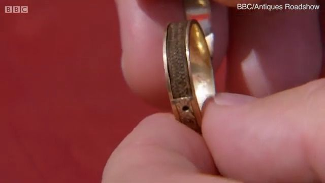 Ring Containing Charlotte Brontë's Hair Discovered in Attic