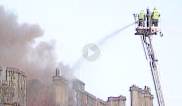 The Fire That Left Windsor Castle in Shambles