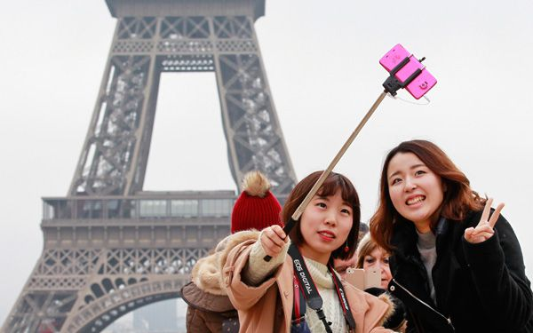 Wanna a better selfie? Get a selfie stick