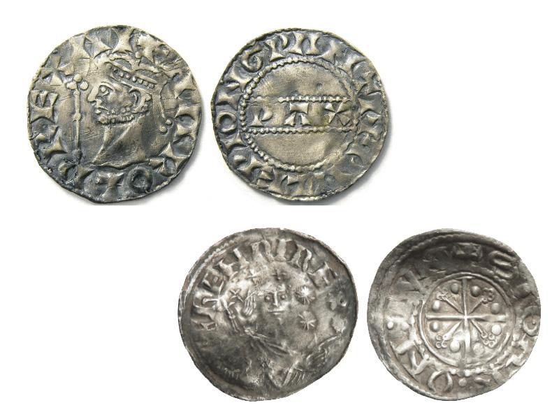 Henry I and Harold II coins